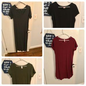 Dresses & Skirts - LOT Of T Shirt Dresses